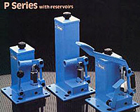 Hand Operated - P-A & P-AC Series with Reservoirs