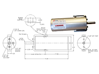 4 Inch (in) Bore Size and 4.65 Inch (in) Stroke Length Spring-Loaded Lock & Roll Pneumatic Cylinder - 2